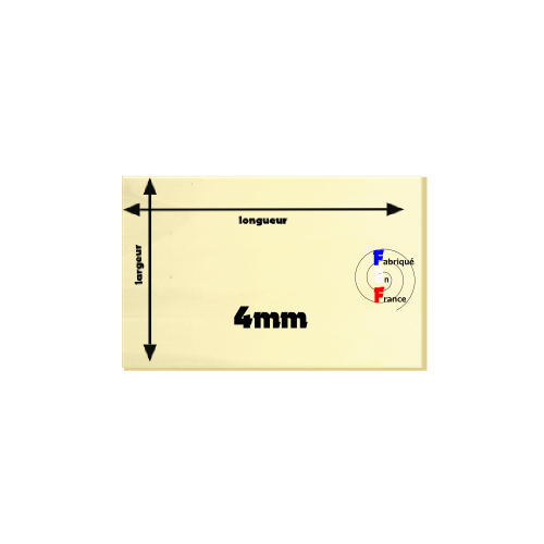 R-contreplaqué intérieur 4mm