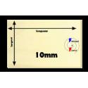 R-contreplaqué peuplier intérieur 10mm