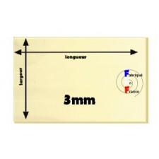 R-contreplaqué peuplier extérieur 3mm